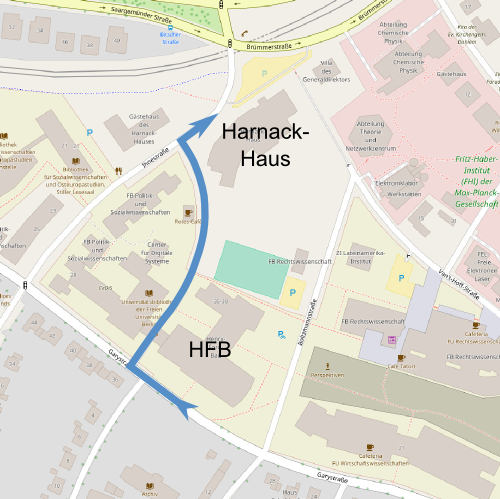 Harnack-Haus Route